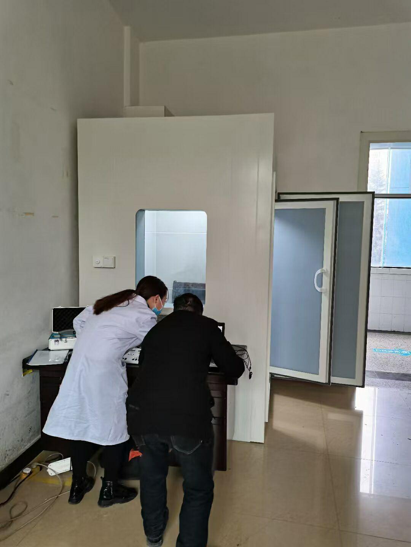 贵州~毕节纳雍新立医院测听室安装验收完毕